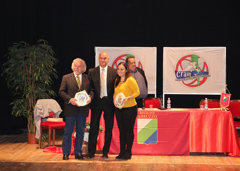 consiglio regionale abruzzesi nel mondo Cram Berardinetti, Di Matteo, Angela Di Benedetto 2
