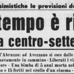 Titoli di giornale (fonte: www.caputfrigoris.it)