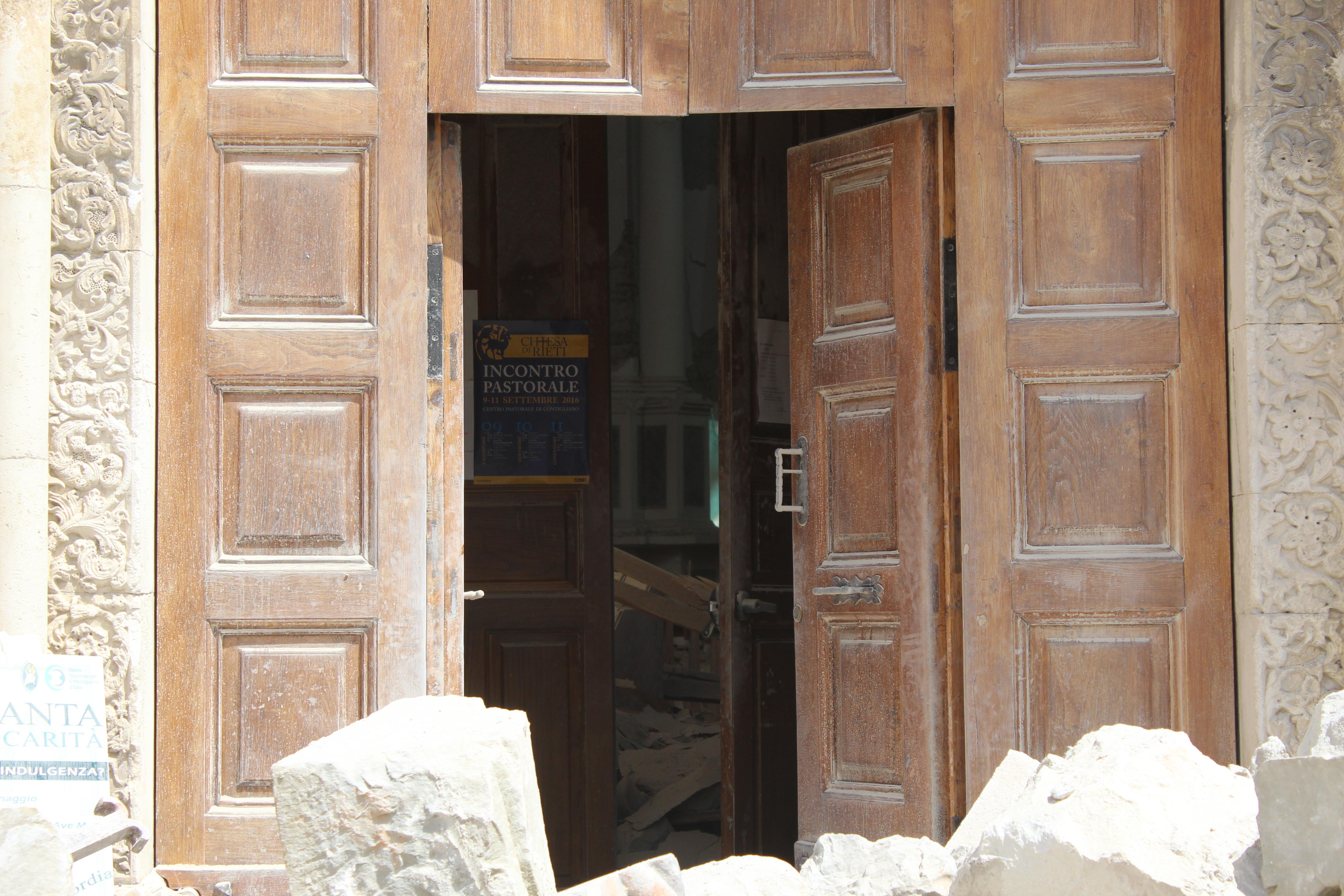 Reportage terremoto- foto Diego Renzi