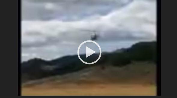 Video elicottero vigili del fuoco precipitato