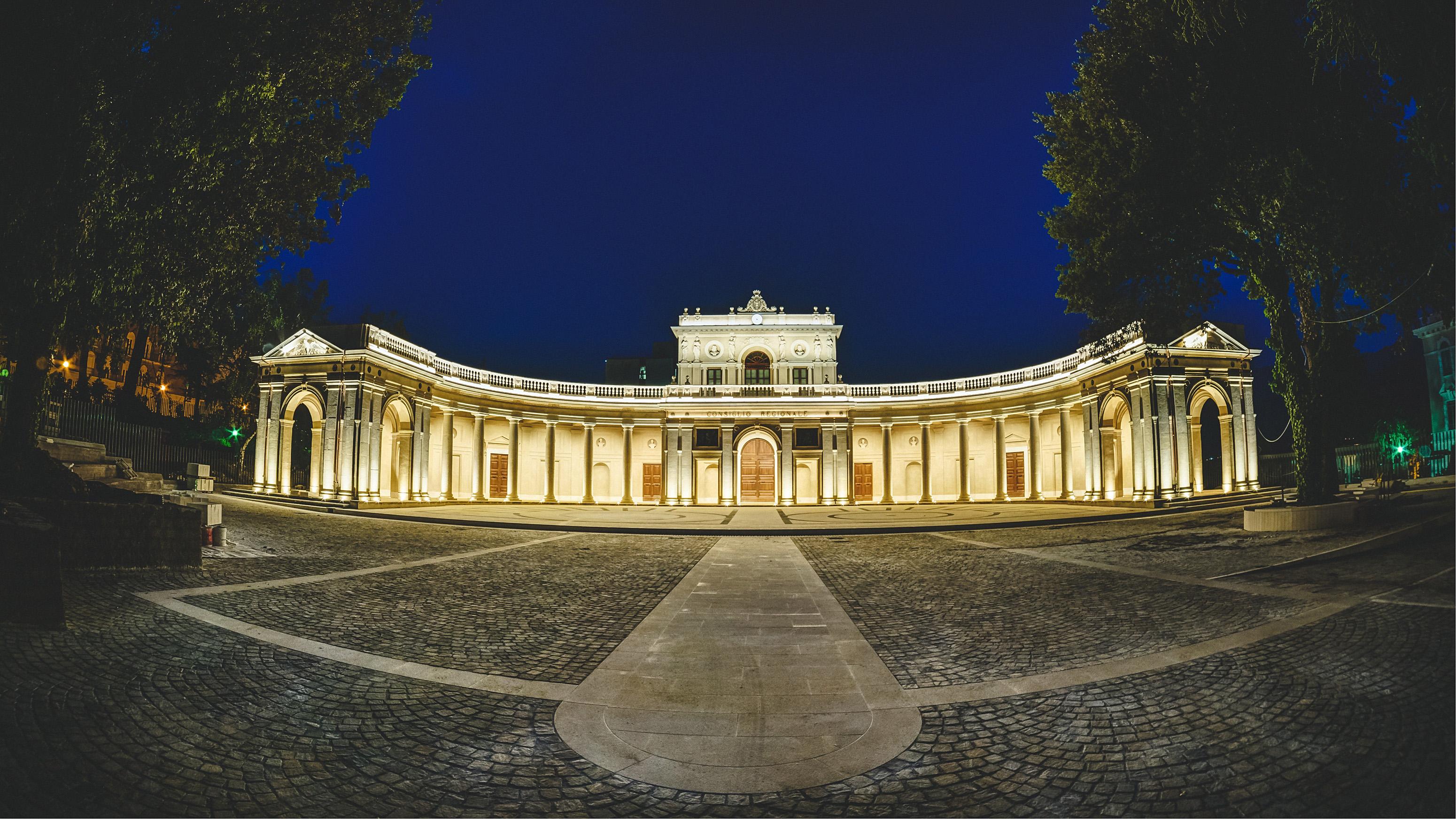 Il giro d italia arriva all aquila stasera il palazzo for Arredamenti giulia l aquila