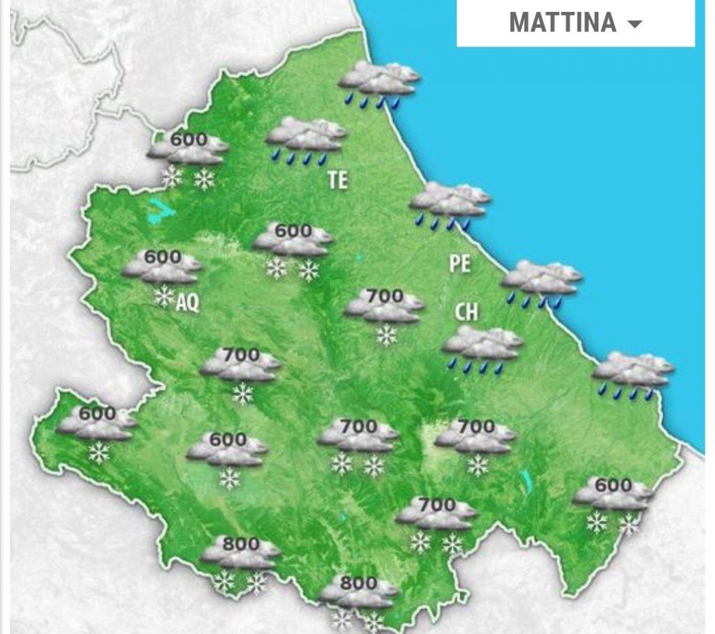 Meteo Abruzzo, vediamo che tempo ci aspetta secondo le ...